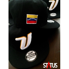 Gorra Plana Venezuela Baseball Negra