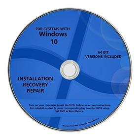 Cd De Formatacao Windows 10 Pro+ Office 2016 32/64bit
