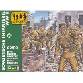 Revell Kit Plastico 1/72 Soldados Infanteria Sovietica Ww2