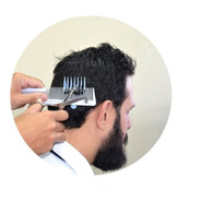 Pente Corrido-pente Para Pente De Máquina- Pente Barbearia 3