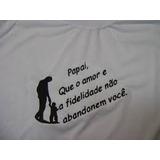 Camiseta Estampada Dia Dos Pais