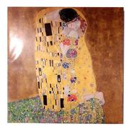 Cuadro El Beso Klimt Réplica 50x50cm