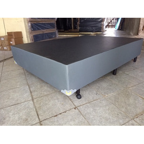 Cama Box Sem Colchão 88x188x34 Nova Reforçada Garantia 1 Ano