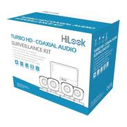 Kit Turbohd 1080p Lite 4ch 4 Cámaras Bala Micrófono Ip66