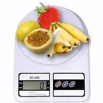 Balanza De Cocina Digital Electronica Tara 1g A 7kg Con Pila