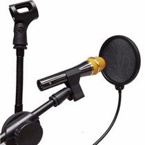 Pop Filtro Protetor P/ Microfone De Estúdio
