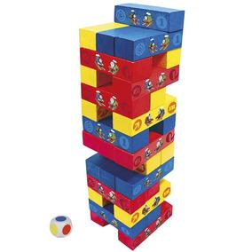 Torre Equilibrio De Cores Em Madeira Thomas Seus Amigos