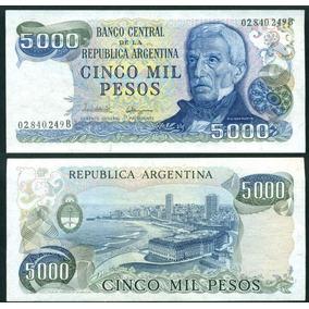Argentina Billete 5.000 Pesos Bottero 2473 Sin Circular