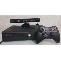 Xbox Perfeito+20 Jogos+ Kinect+controle+não(é Desbloquead)
