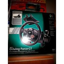 Vendo Urgente Volante C/pedalera Geforce Driving Gt Logitech