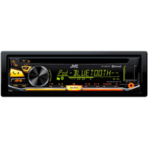 Autoestereo Multicolor Jvc Kd-rd97bt Cd Mp3 Usb Bluetooth
