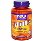 Tribulus Terrestris Now Sports 1000mg 90 Caps Importado