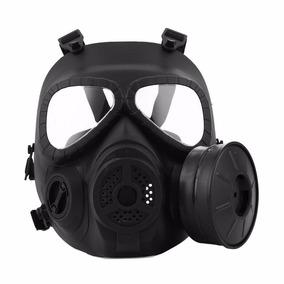 6424a489e8600 Máscara Mod Anti Gás M04 Fma Preto Airsoft Scott Paintball
