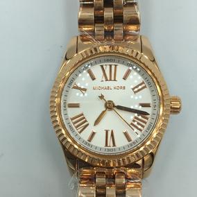 Reloj Michel Kors Mk3230 Dorado Envi Gratis Original
