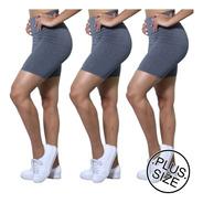 Kit 3 Bermudas Fitness #academia #yoga #pilates #legging