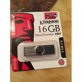 Pendrive De 16gb Marca Kingston Color Negro