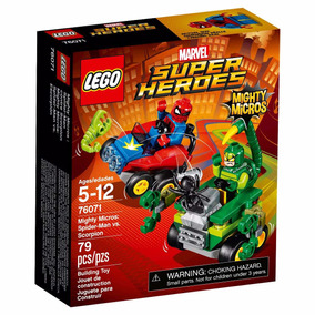 Lego Superheroes Spiderman 76071 En Rosario