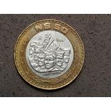 Moneda 50 Nuevos Pesos Mexicanos Centro De Plata