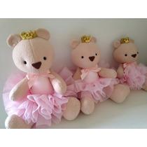 Ursas Princesas Nichos- Ursas Pelúcia Sjc