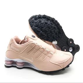 Tenis Nike Shox Segunda Linha - Tênis para Feminino Rosa claro no ... 0130ec8ac6e0d