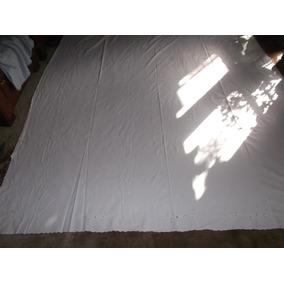 Sábana Antigua Con Bordados 2.55 X 2.06 Cód 406