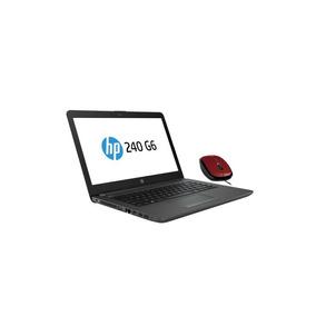 Laptop 240 G6 Hp Intel Celeron 4 Gb 500 Gb + Mouse