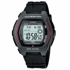 Relógio Masculino Esportivo Hdd-600-1avdf Borracha Preto