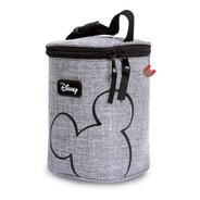 Bolsa Maternidade Porta Mamadeira Térmica Mickey Cinza