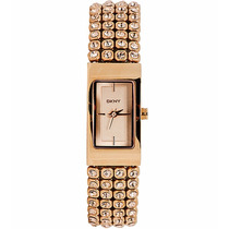 Relógio Dkny Ladies Rose Gold Plated Bracelet Ny8560