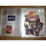 Album Carpeta Rock Cards 1997 + 29 Tarjetas + 13 Figus