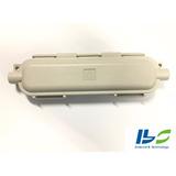 Caixa De Emenda P/fibra Óptica Uso Externo Cor Branco Gelo