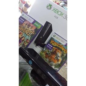 Xbox 360 250gb C/ 50 Jogos + Kinect Brinde* Leia Descrição