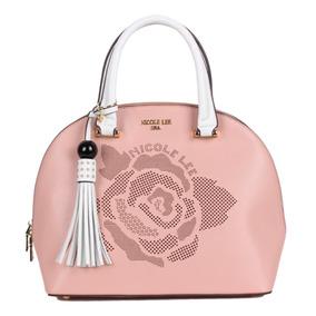 Bolsa Para Dama Nicole Lee Sty P11882 Rosa 100% Original*