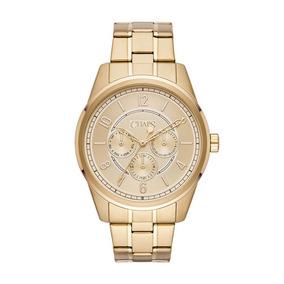 Chaps Bransen Tono Dorado Reloj Multifunción, Dorado