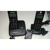 Telefone Sem Fio C/ramal Motorola Fox 1000 Novo Salvado