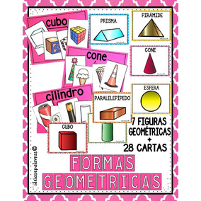 Jogo De Formas Geométricas | Alfabetização Para Imprimir