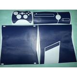 Skin Protector Fibra Carbono Sony Xbox Slim