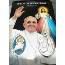 Recuerdo Del Vaticano. Papa Francisco + Jesús Misericordioso
