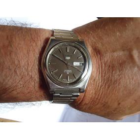 33a2e0dc91b Relogio Seiko 5 Automatico 6119 Quadrado Antigo Veja!!!!! - Relógios ...