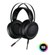 Headset Gamer Cooler Master Ch321 Usb, Rgb, Drivers 50mm