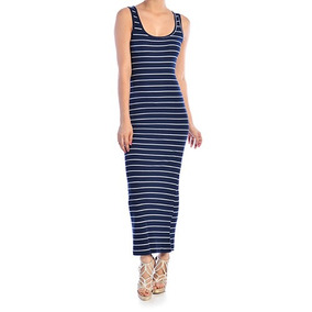 Vestido Largo Marca Tt-blues, Talla M