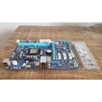 Placa Mãe Gigabyte H61 Lga1155+processador I5 3470+mem 8g