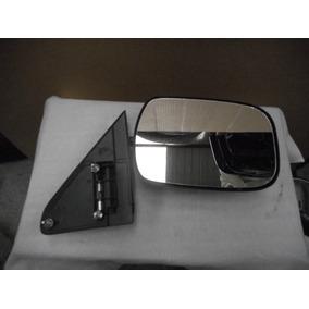 Espejo Der Chevrolet Pickup 92/98 Negro C/detalles
