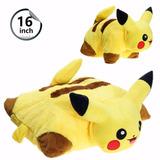 Pikachu Travesseiro Almofada 40 Cm Pelúcia Pokémon