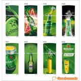 Geladeira Heineken Em Adesivo Envelopamento - Frete Grátis
