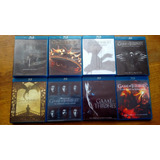 Game Of Thrones-temporadas 1-7+conquista & Rebelion Blu-ray