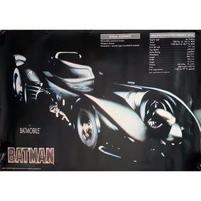 Poster Batimobil De 1989 Tim Burton Michael Keaton