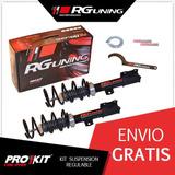 Amortiguadores Regulables Jorsa Del Chevrolet Astra Rg Kit
