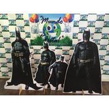 Kit Displays De Chão Batman 8 Peças. Totens, Painel Mdf 3mm