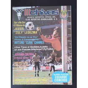 Revista Chivas Oficial Club Deportivo Guadalajara 1984
